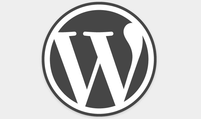 WordPress をはじめよう。