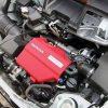 S660のエンジンカバーを交換。お手軽にエンジンルームのドレスアップができます。